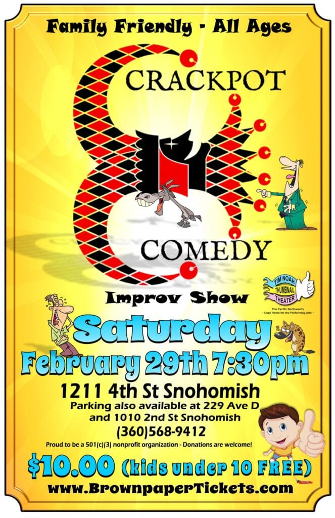 Improv Comedy Show Snohomish, WA